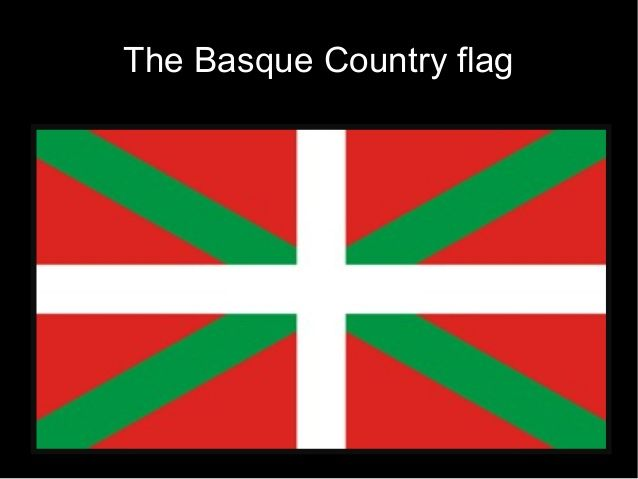 The Basque Country flag