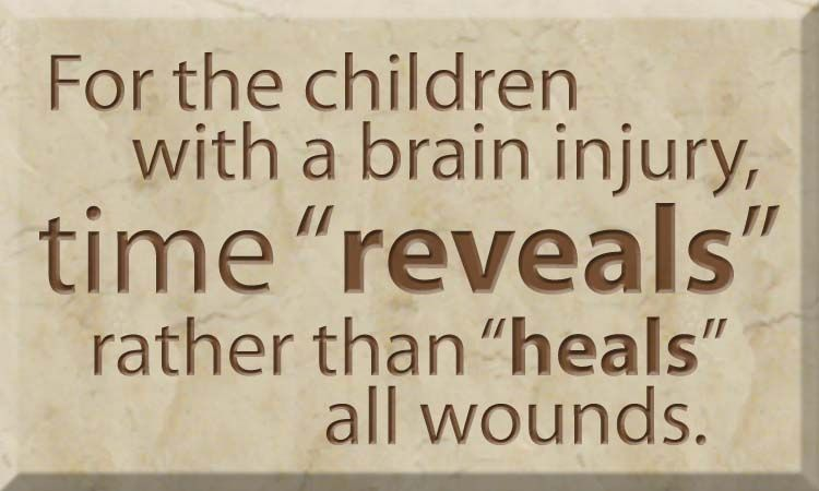 """Traumatic Brain Injury Quotes: Time """"reveals"""" Rather Than """"heals"""". TBI (Traumatic Brain"""