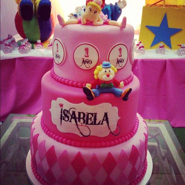 Festa de 1 ano da Isabela
