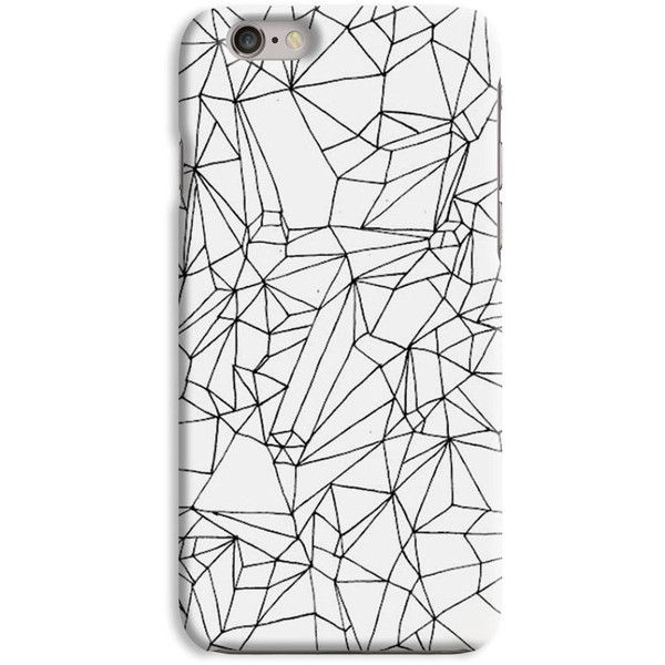 Geometric Black White Triangles Indie Hipster Graphic Quirky Designed... (29 BRL) ❤ liked on Polyvore featuring accessories, tech accessories, phone cases, phone, fillers, cases and indie hair