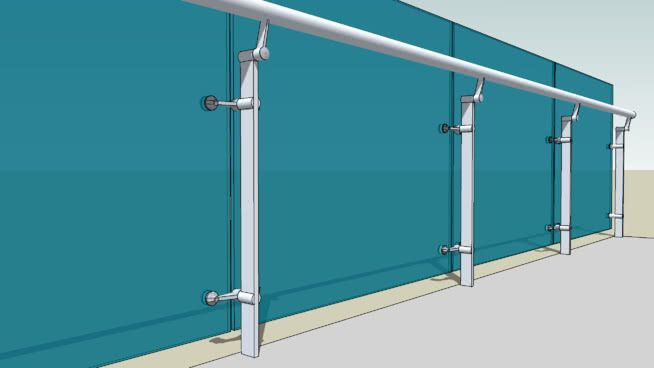 Handrail system - 3D Warehouse | Compras