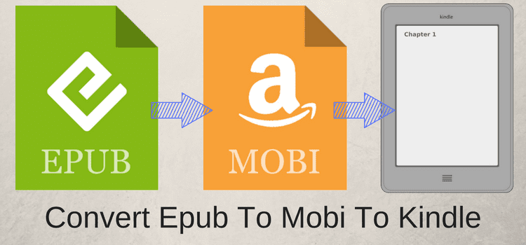 How To Convert Epub To Mobi Files To Read Ebooks On A