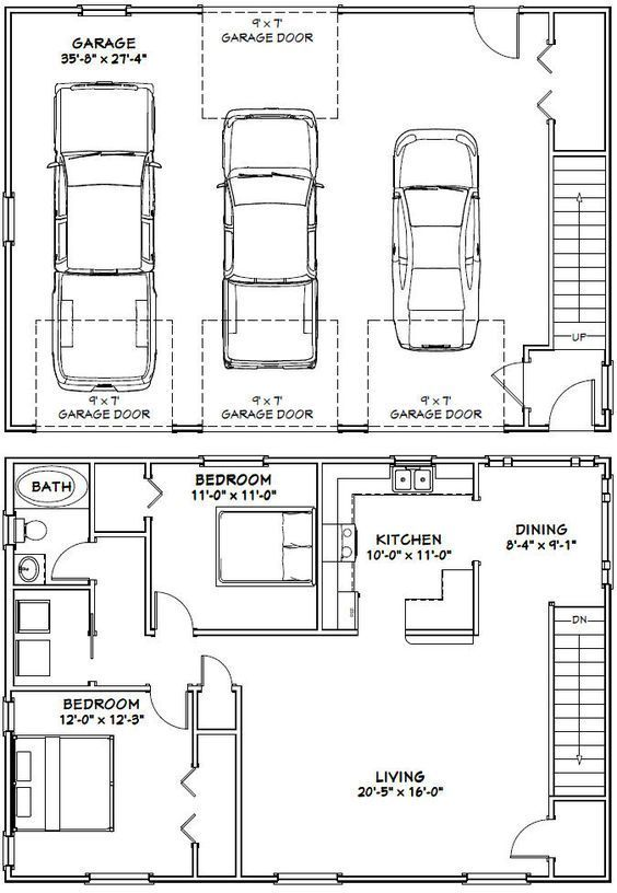 Two story barndominium floor plans gurus floor for 30x50 floor plans