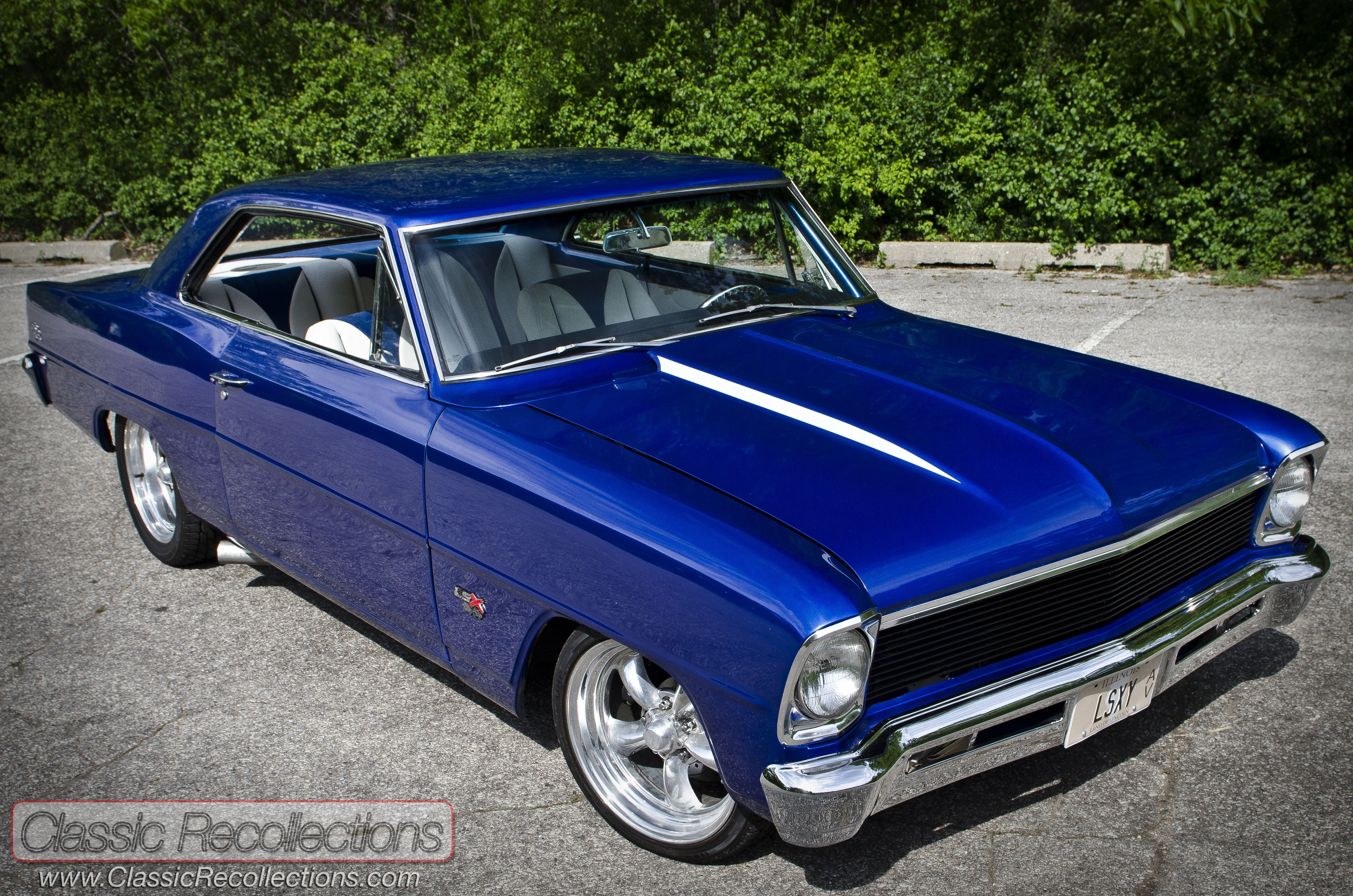 images of classic chevys | This 1966 Chevrolet Chevy II Nova was restored and cu…