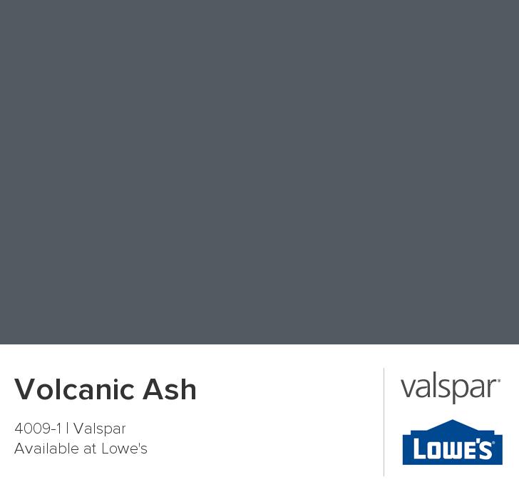 Volcanic ash from valspar paint colors pinterest