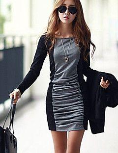 Yaxin+engrossar+fashion+vestido+de+palhaço+magro+–+USD+$+12.99