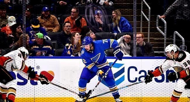 St. Louis Blues vs. Anaheim Ducks - 1/13/20 NHL Pick, Odds, and Prediction