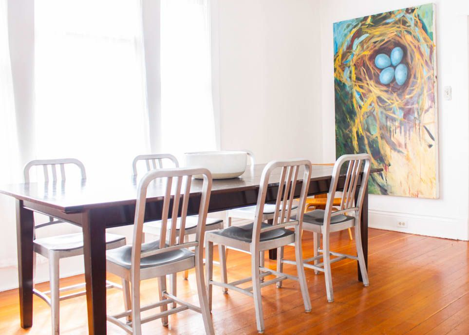 A Graphic Designer's Collected Seattle Home | Dining room ...