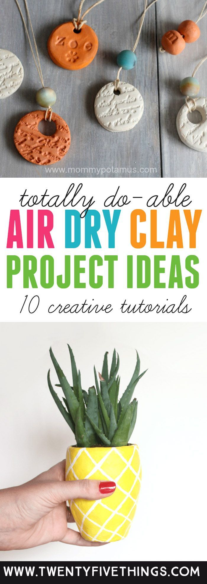 10 Things to Make with Air Dry Clay Fun and Beautiful