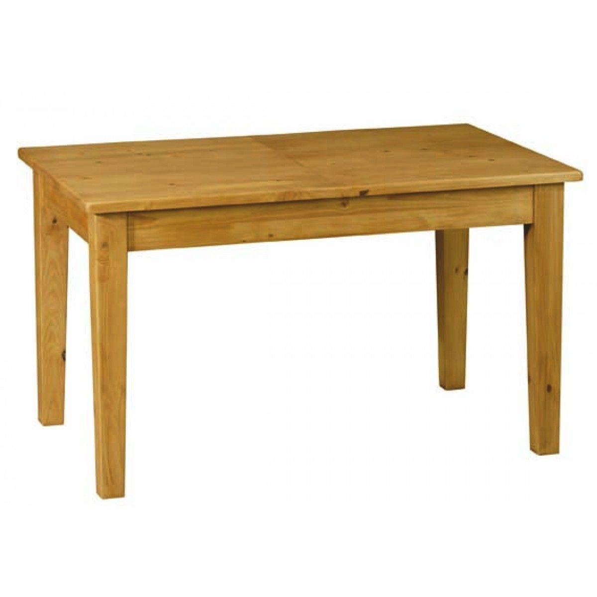 Table de ferme en pin 12 cm avec rallonge 12 cm   Table de ferme ...