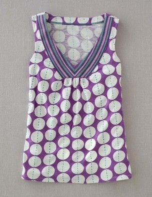 I've spotted this @BodenClothing Martinique Tank Crocus Stitch