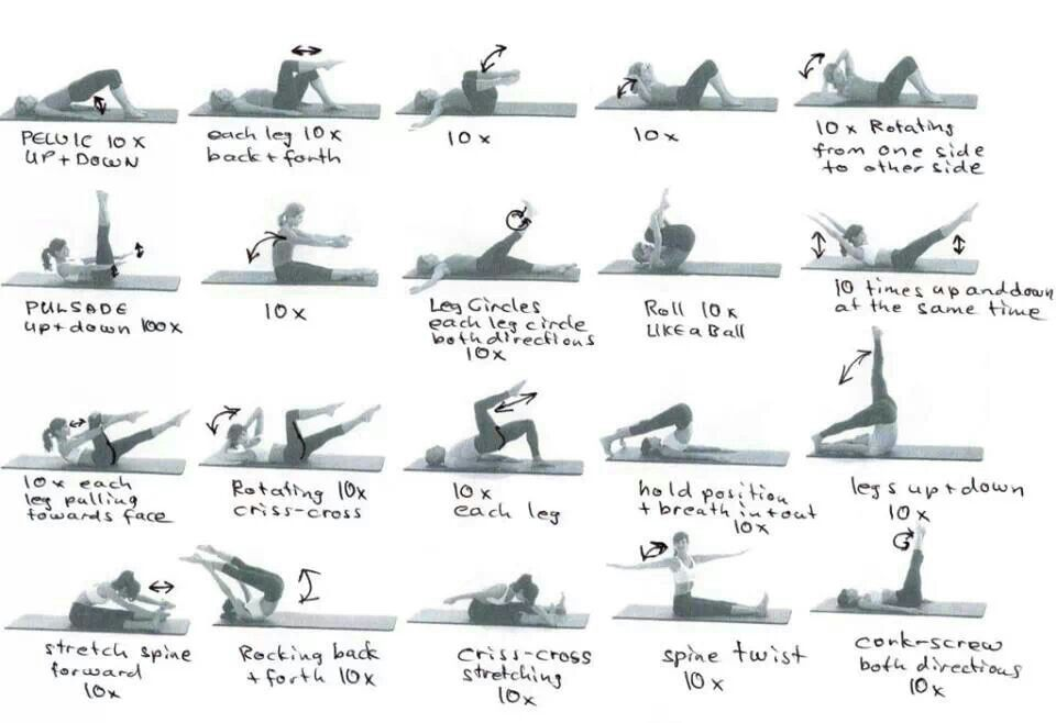 Range Of Motion Exercises Fitness Pinterest Ranges