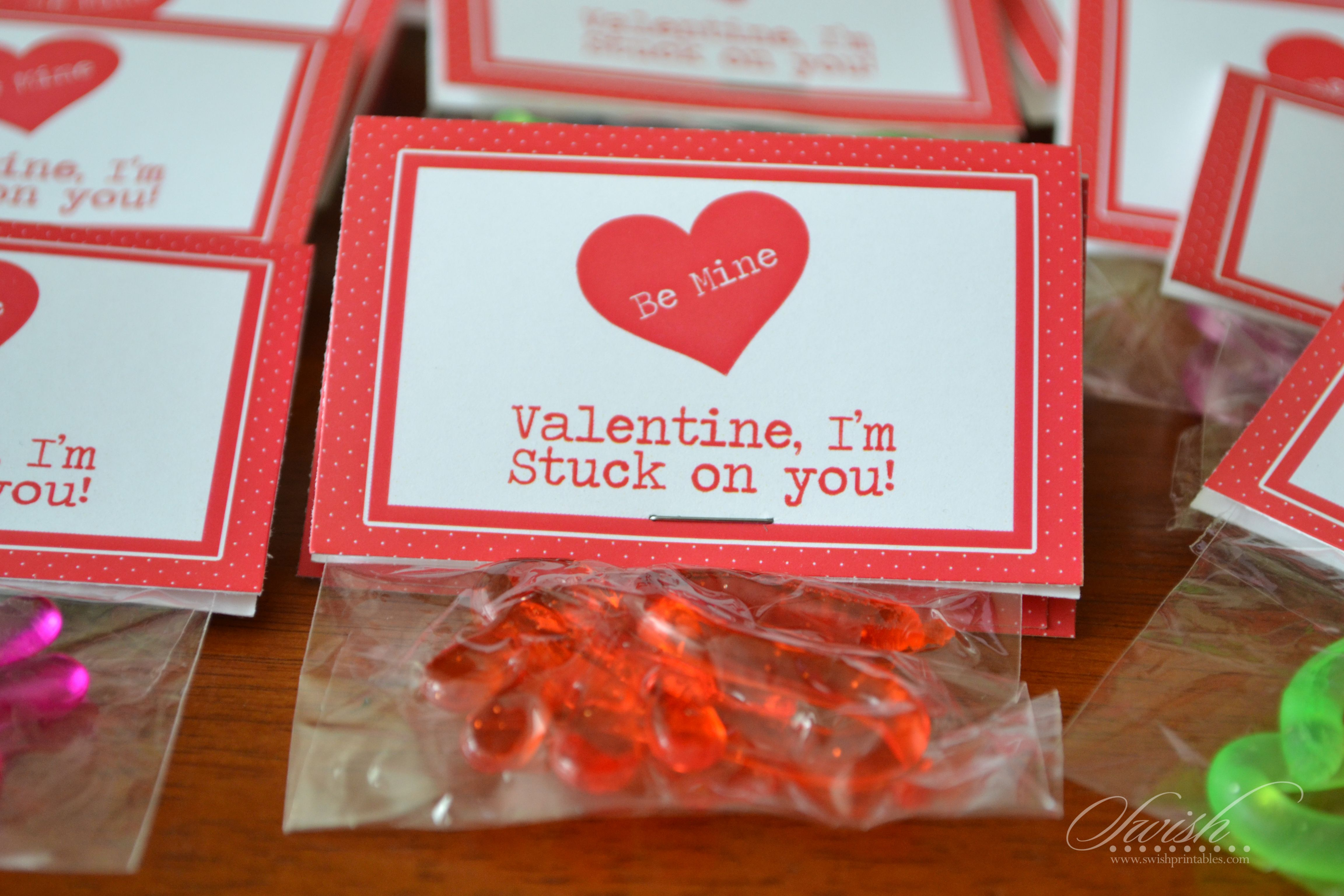 Free Valentines Day Bag Topper Printables Sticky Hands Im Stuck