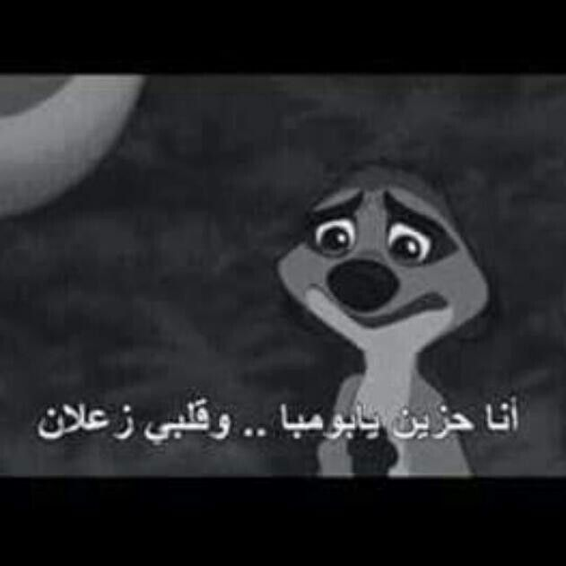 أنا حزين يا بومبا وقلبي زعلان Cartoon Quotes Movie Quotes Funny Beautiful Arabic Words