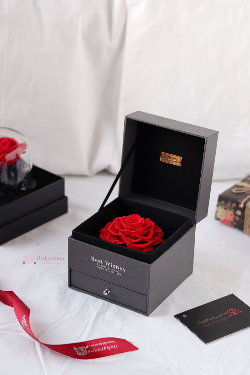 Iluba Red Forever Rose Gift Box Gifts Best Anniversary Gifts Rose Gift
