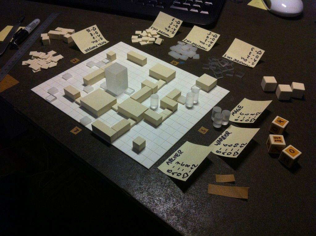 Dungeon crawler prototype