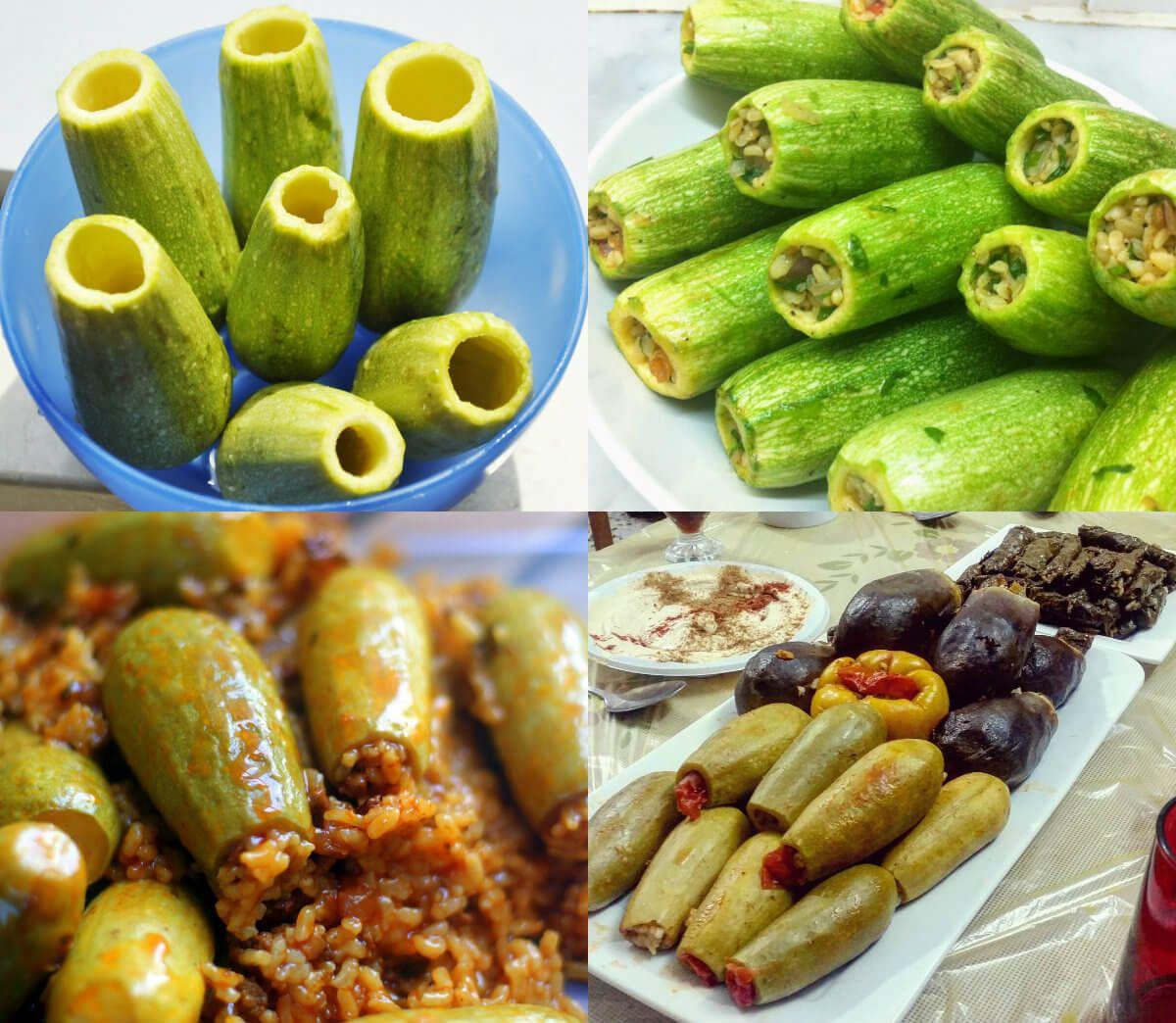 عالم الطبخ والجمال طريقة عمل محشي الكوسا Egyptian Food Cooking Recipes I Foods