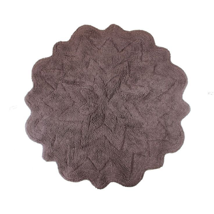 Small Round Bathroom Rugs In my choice of colors it reminded me of ...