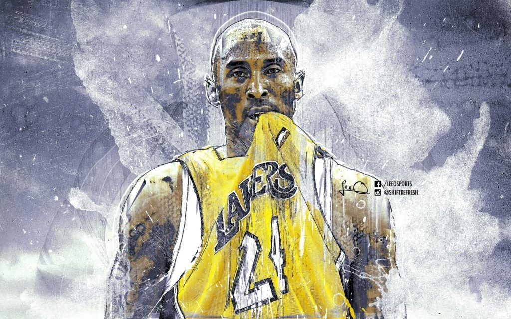 Nba Super Star Brant Kobe Show Iphone 8 Wallpapers In 2020 Kobe Bryant Wallpaper Lakers Kobe Bryant Kobe Bryant Pictures