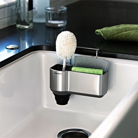 Solutions S Sink Caddy With Brush Holder