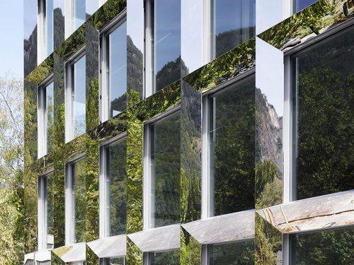 Visp, Switzerland  Technical School Visp  Bonnard Woeffray architectes