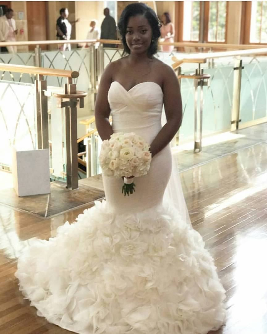 Congrats! @Keondra @chelseafloraldesigns #WhiteWedding ...
