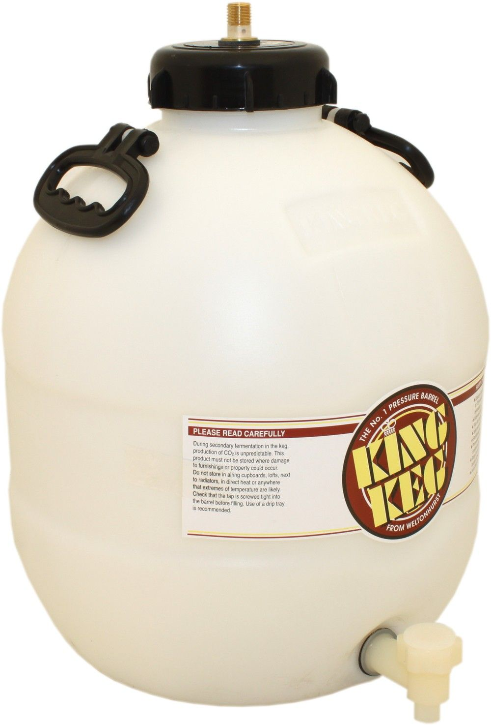Brew2bottle stocks two types of pressure barrel for the