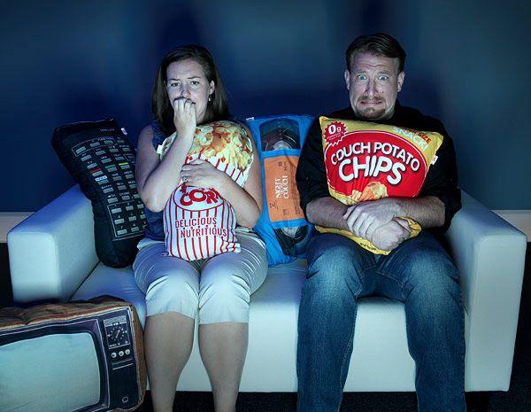 Conjunto de almofadas para os fãs do cinema em casa
