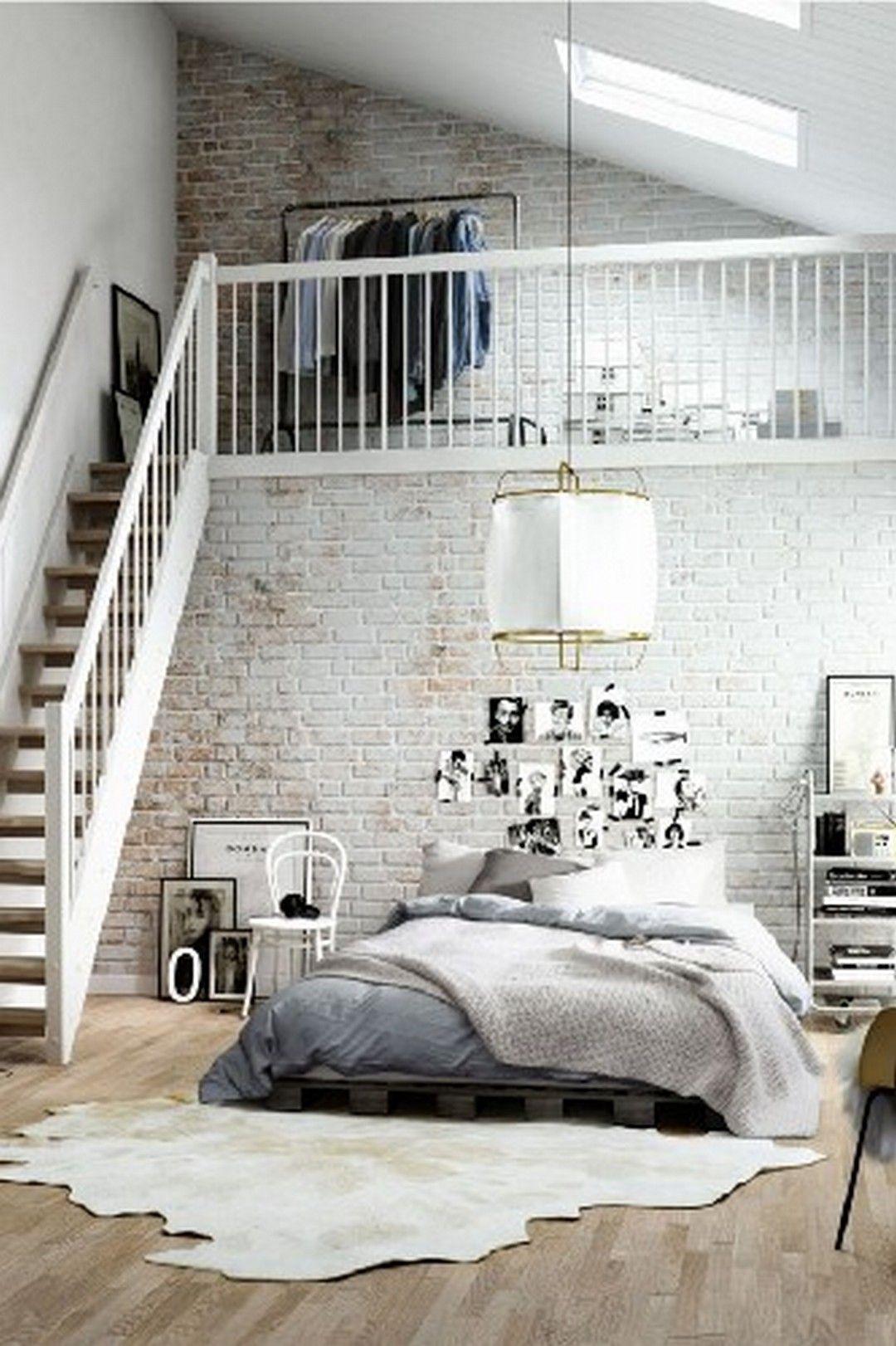 20 Modern and Stylish Rustic Scandinavian Bedroom Decor | Bedroom ...