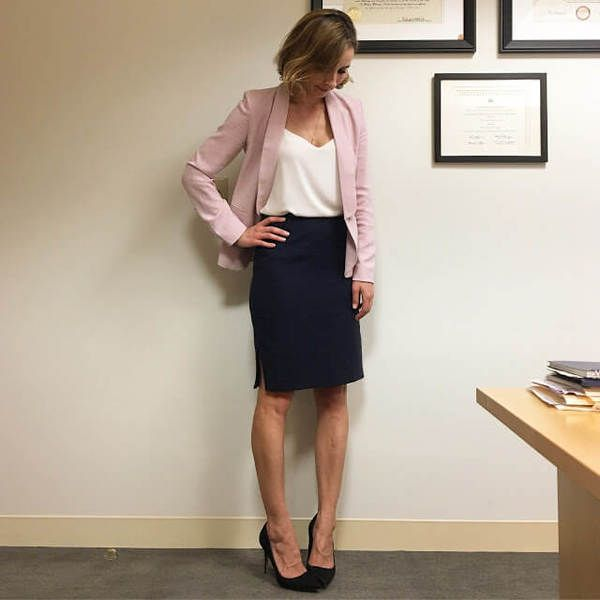 30 Voguish Outfit Ideas For Work #businessattireforyoungwomen