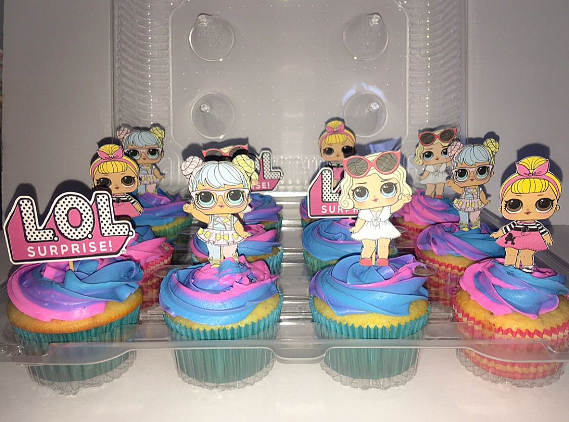 Lol Surprise Dolls Birthday Cupcakes L O L Party Pinterest