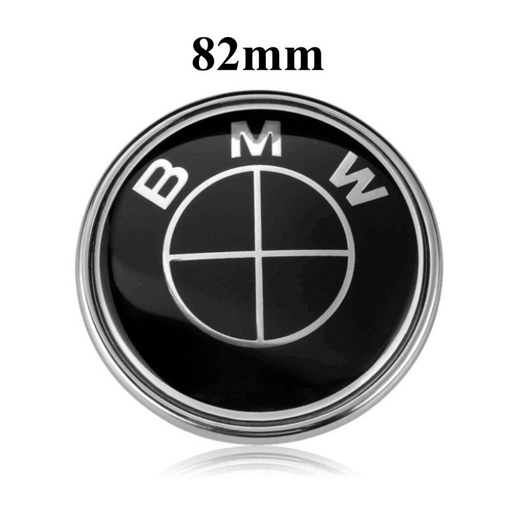 BMW Emblem Logo Replacement for Hood//Trunk 82mm for ALL Models BMW E30 E36 E34 E60 E65 E38 X3 X5 X6 3 4 5 6 7