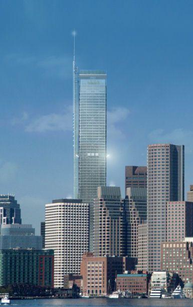 Bold Tower Proposal - Renzo Piano (Boston)