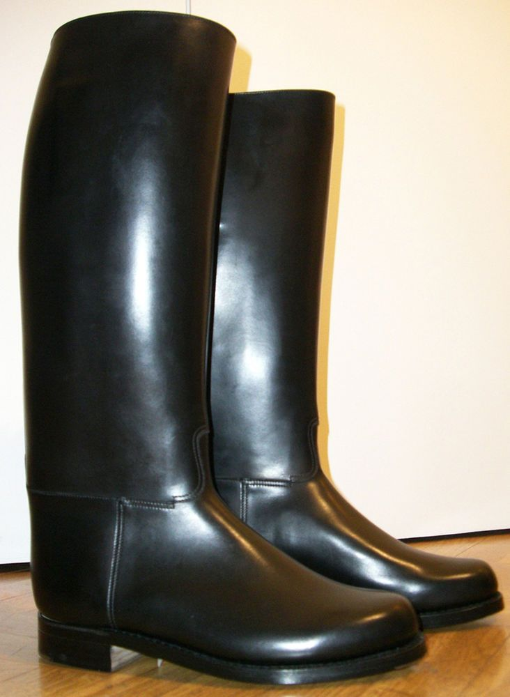 c3f91a1c830 BOTTES WESTON POLICE FRENCH POLICE BOOTS L CALF FR 44 US 10 UK 9,5 ...