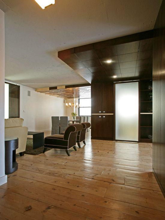 Wooden Furniture Living Room Designs: Fascinating Apartment Renovation Ideas: Cozy Loft Like