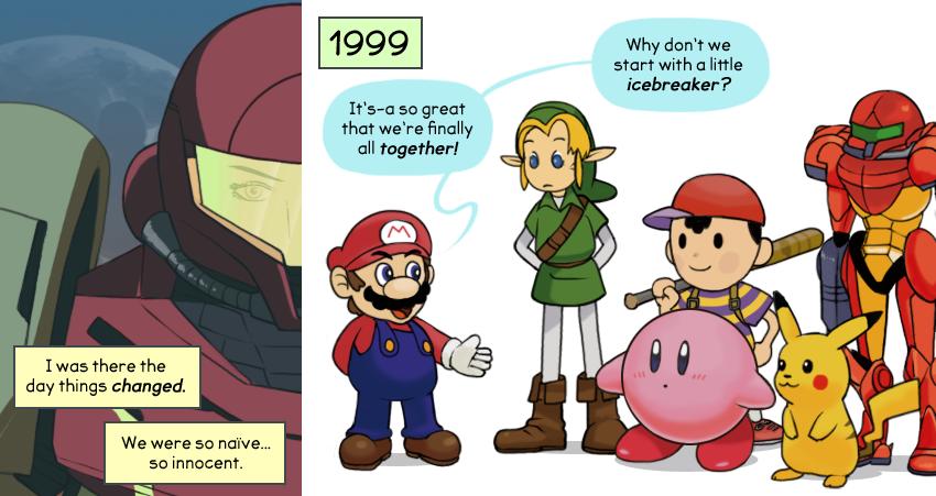 Final Smash! - A Super Smash Bros Comic   The Legend of ...
