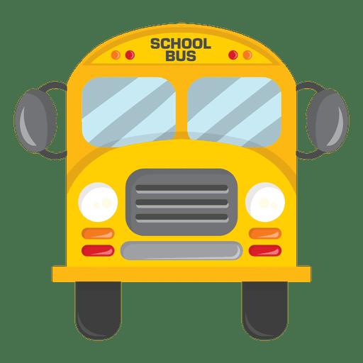 Frente De Onibus Escolar Transparent Png Autocarros Escolares