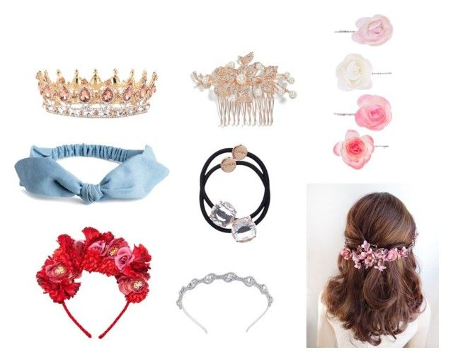 """Hair accessories"" by tynianova on Polyvore featuring мода, Nina, MANGO и Accessorize"