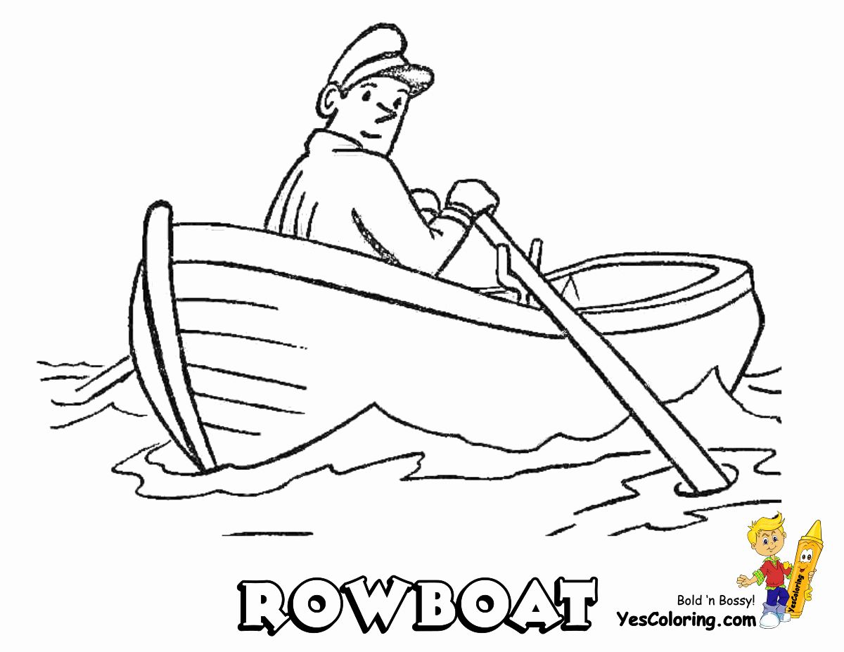Speed Boat Coloring Page New Coolest Boat Printables Free Coloring Pages Sketches Of People Boat