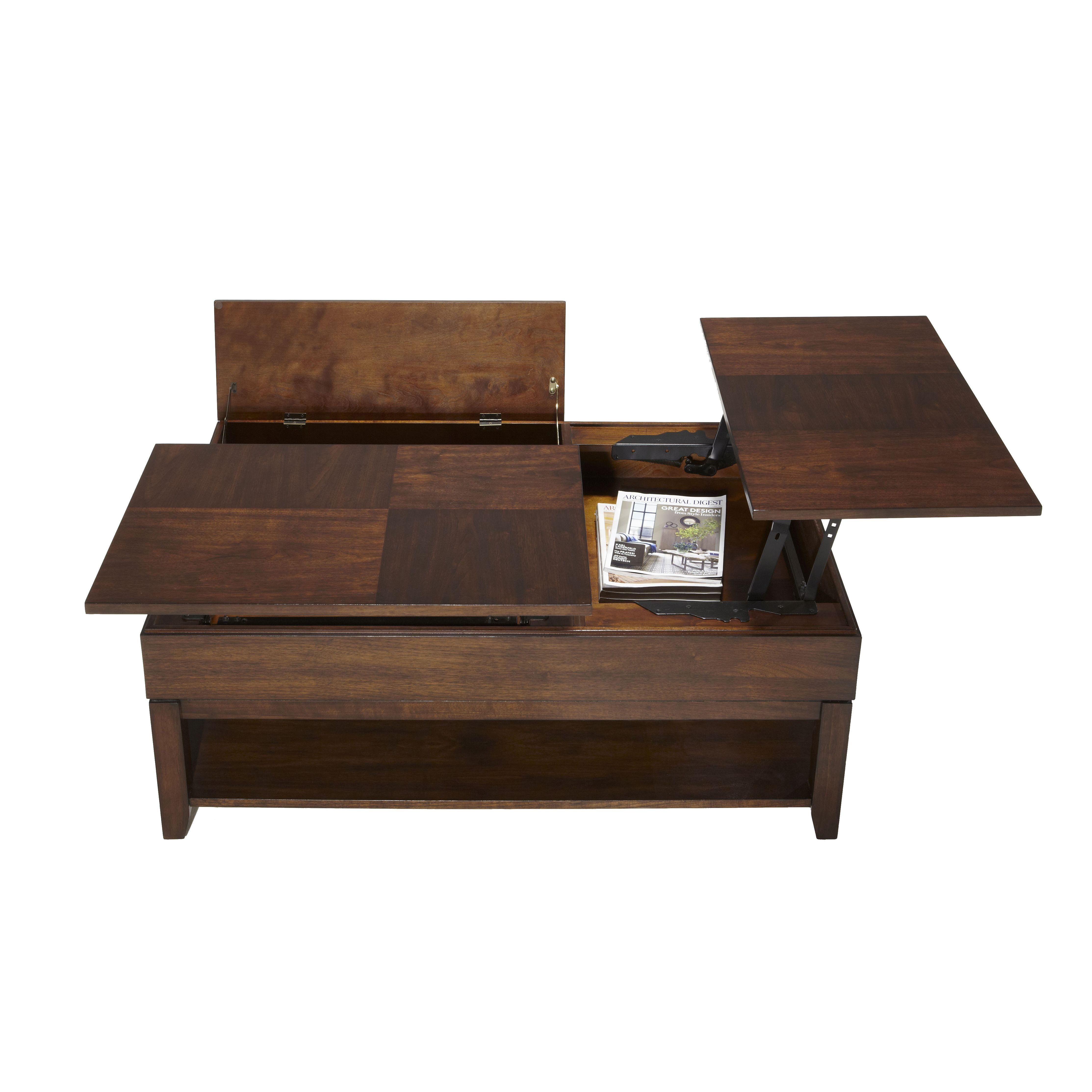 Progressive Furniture Inc. Daytona Coffee Table With Double Lift Top