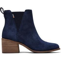 Toms Schuhe Blaue Suede Esme Stiefeletten Für Damen – Größe 38 TomsToms