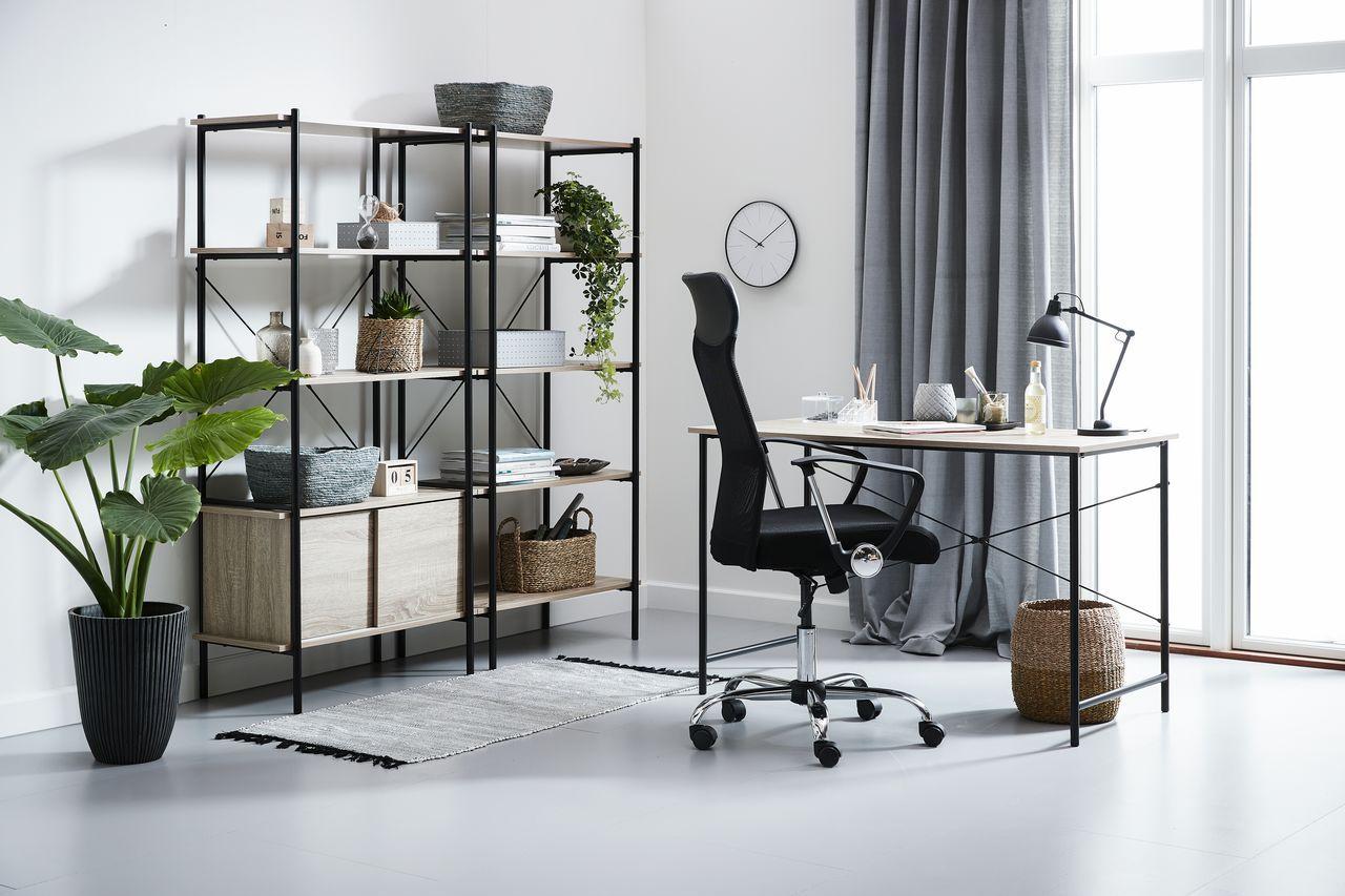 Skrivbord 60x120 ek/svart JYSK i 2020