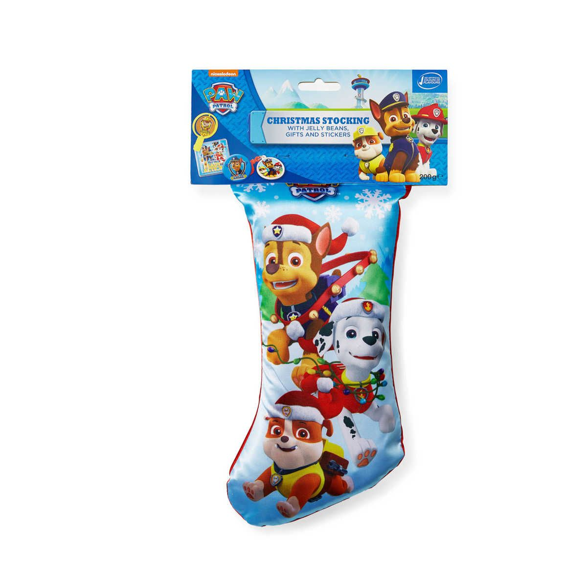 Paw Patrol Christmas Stocking | BIG W $2 clearance. Use for game ...