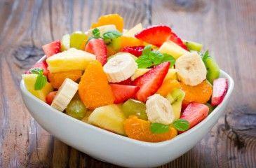 Как приготовить фруктовый салат с йогуртом рецепт пошагово