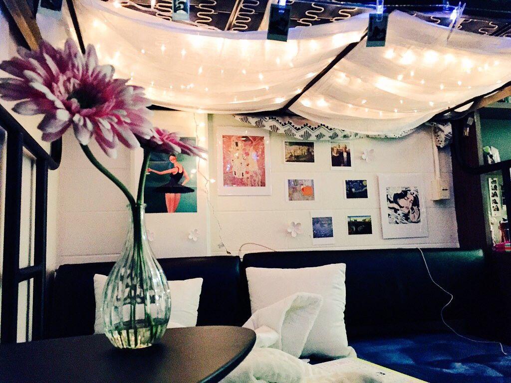 University loft graduate series twin xl open loft bed natural finish - Fuck Yeah Cool Dorm Rooms University Of Miami