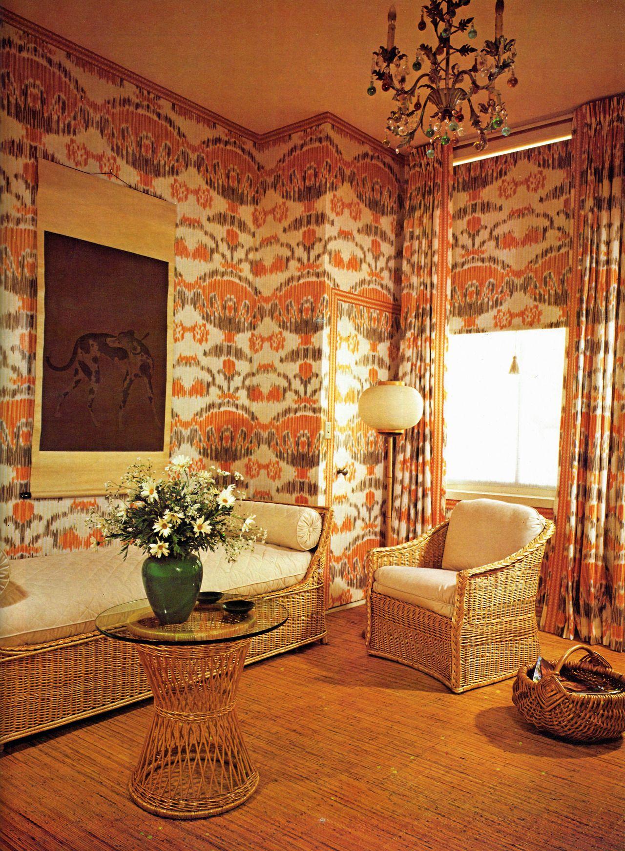 Living Room Design 1980 Retro Style Living Room Small Apartment Design Luxury House Designs #retro #style #living #room