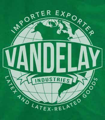 Vandelay Industries T-Shirt,  $6.00