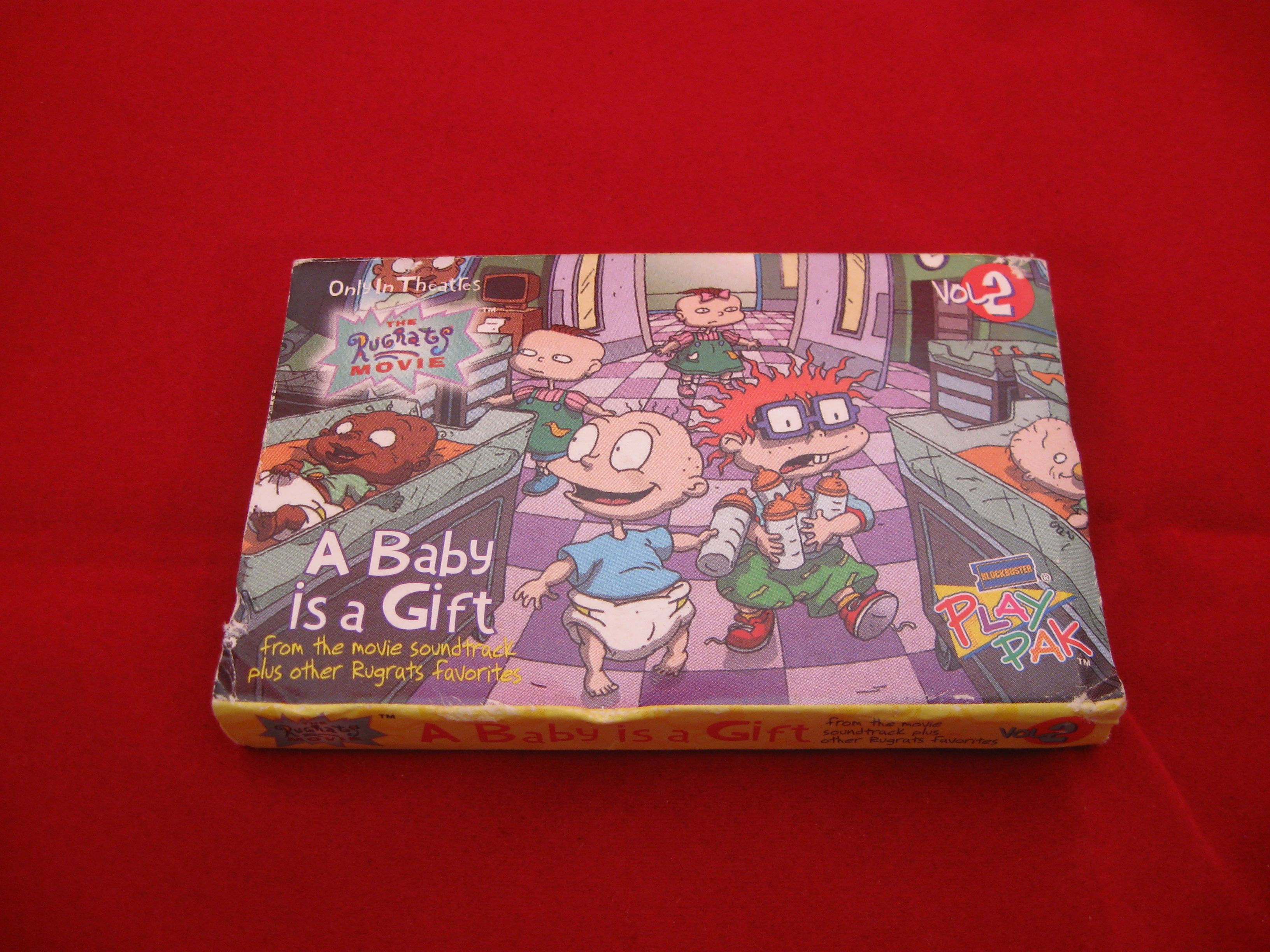 Pics photos description from nick jr favorites vol 2 dvd wallpaper - A Cassette Copy Of A Baby Is A Gift Volume 2 From The Rugrats Movie In