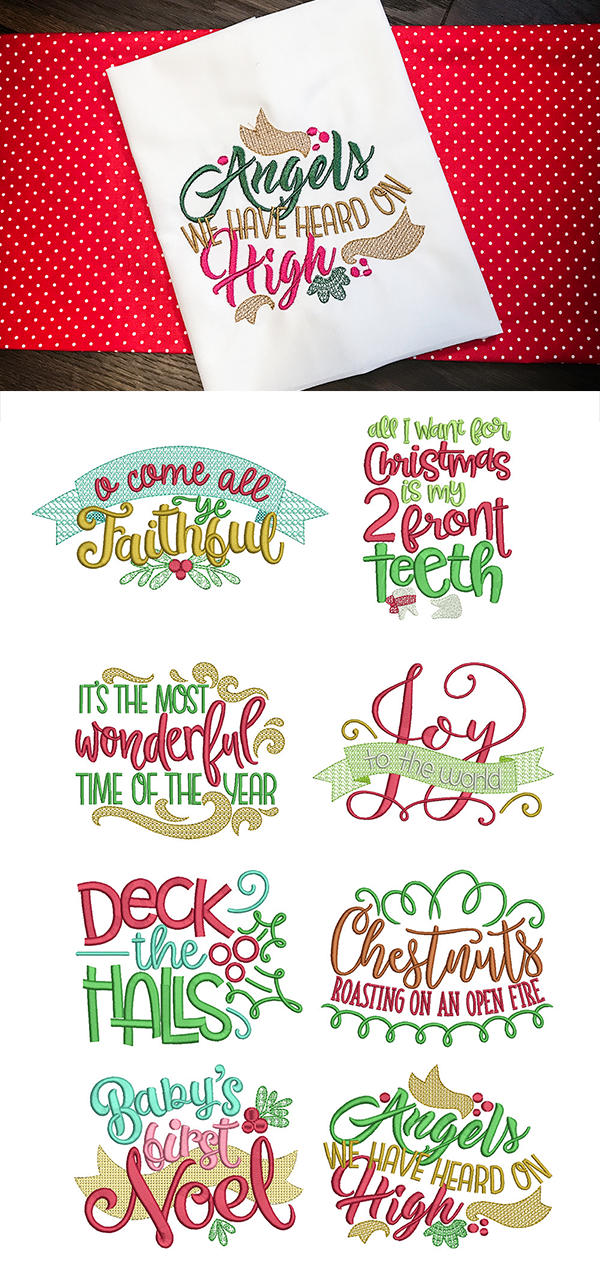 8 Christmas carol word art phrases. Awesome for home decor, apparel on word art wedding, word art crochet, word art rubber stamps, word art t shirts, word art cross stitch, word art sewing, word art jewelry, word art appliques, word art home, word art buttons, word art drawing designs, word art printables, word art flowers, word art gifts, buffalo designs, word art embroidery software, word whim, word art craft,