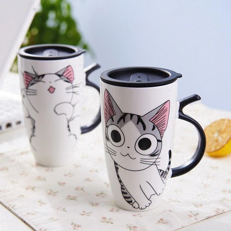 Cute Kitty Mug Mugs, Diy mug designs, Animal mugs